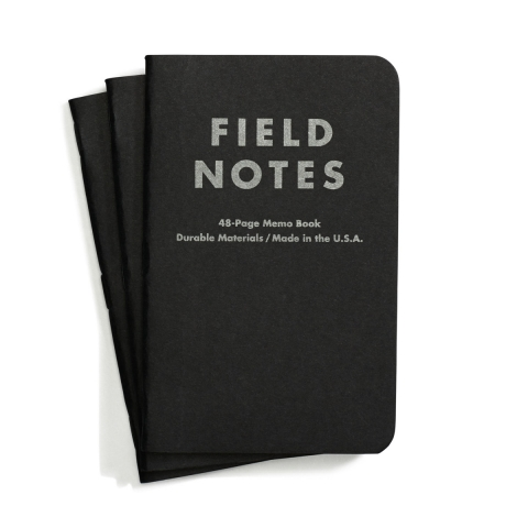 FIELD NOTESPITCH BLACK