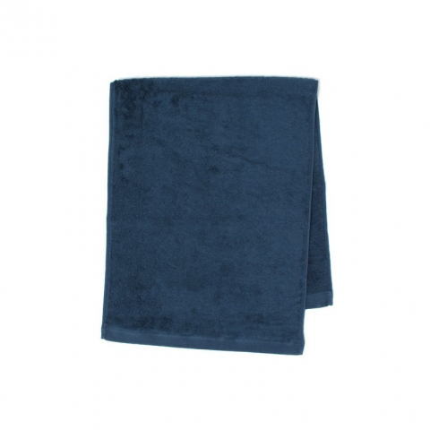 FACE TOWEL・PLACID / NATURAL - (NAVY)
