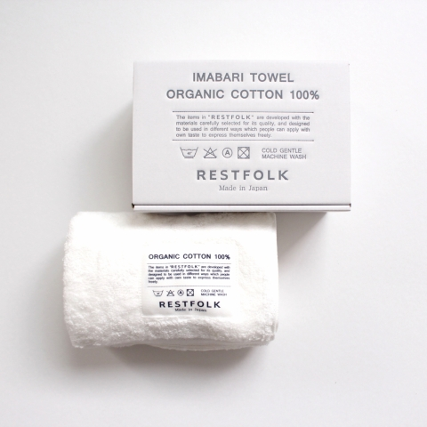 FACE TOWEL・ ORGANIC COTTON