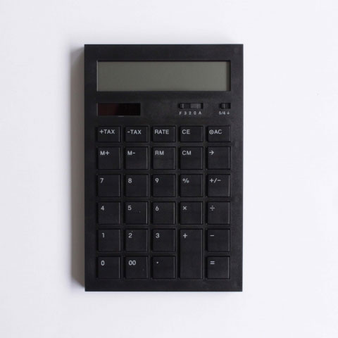 Calculator 12DD(BLACK)