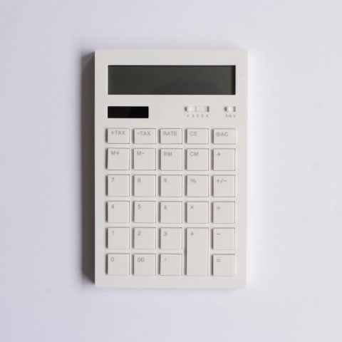 Calculator 12DD(WHITE)