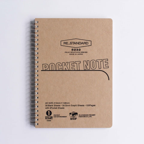 Pocket Notebook(NATURAL)