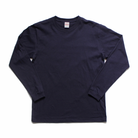H.i.d LONG SLEEVE T-SHIRT (NAVY)
