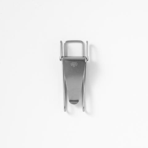 "Hopper Double Clip ""Nickel"""